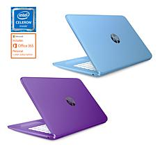 "HP Stream 14"" Intel 4GB RAM, 32GB eMMC Laptop 2-pack w/Tech Support"