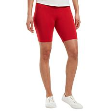 HUE High-Waist Bike Short - Missy