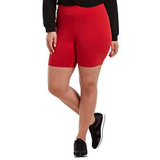 HUE High-Waist Bike Short - Plus