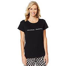 HUE Short-Sleeve Sleep Tee - Missy