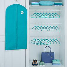 Huggable Hangers® 35pc Luxury Set w/Garment Bag -Chrome