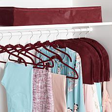 Huggable Hangers Ultimate 100-piece Set - Chrome