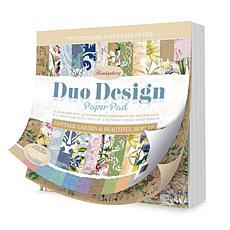 Hunkydory Crafts Duo Design Pad - Cottage Garden & Beautiful Burlap