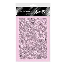 Hunkydory Crafts For the Love of Stamps -Color Me Flowers A6 Stamp Set