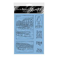 Hunkydory Crafts For the Love of Stamps - Harbourside A6 Stamp Set