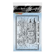 Hunkydory Crafts For the Love of Stamps - Ready, Set, Celebrate A6 Set