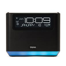 iHome Bedside System w/Alexa Voice Service, Bluetooth & USB Charging