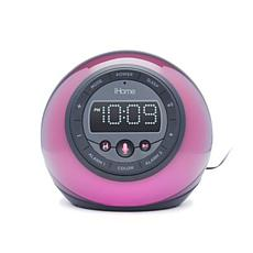 iHome Bluetooth Color Changing Dual Alarm Clock Radio
