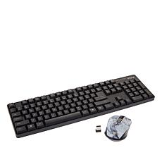 iHome Keyboard and Wireless Optical Mouse