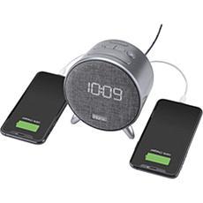 iHome POWERCLOCK Bluetooth Alarm Clock w/Dual Charging & Ambient Light