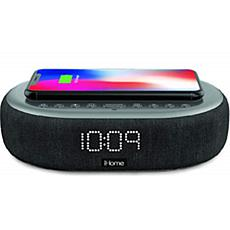 iHome TIMEBOOST Bluetooth Alarm Clock with Speakerphone & Charging