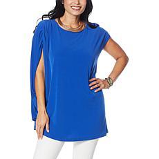 IMAN Global Chic Asymmetric Easy Fit Tunic