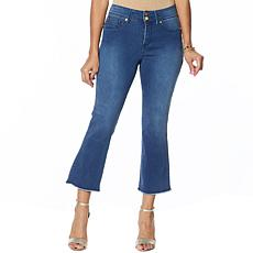 IMAN Global Chic Luxury Resort 360 Slim Crop Jean