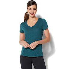 IMAN Global Chic Perfect Luxe Comfort Tee - Fashion