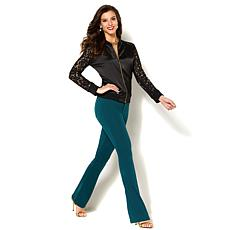 IMAN Global Chic Perfect Ponte 360º Slimming Boot-Cut Pant
