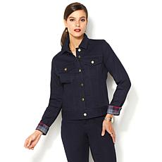 "IMAN Global Chic ""Slip Into Slim"" Curve Appeal Jacket"
