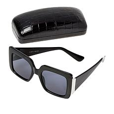 IMAN Global Chic Square-Frame Sunglasses with Case