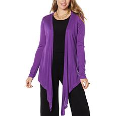 IMAN Global Chic Touch of Cashmere Convertible Cardigan