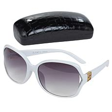 IMAN Global Chic Vented Sunglasses with Case
