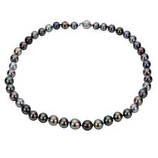 Imperial Pearls 14K 8-10mm Cultured  Tahitian Pearl Necklace - 18""