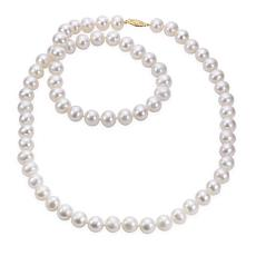 "Imperial Pearls 30"" 14K 10-11mm Cultured Freshwater Pearl Necklace"