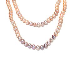 Imperial Pearls Pastel Cultured Pearl 2-Strand Necklace