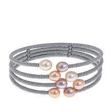Imperial Pearls Pastel Cultured Pearl 4-Row Bracelet