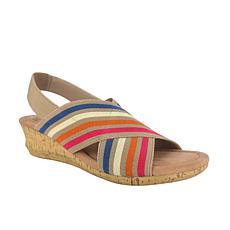 Impo Geena Stretch Sandal with Memory Foam