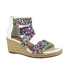 IMPO International Nieve Stretch Wedge Sandal with Memory Foam
