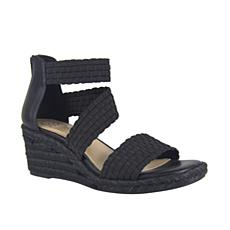 IMPO International Nieve Stretch Wedge Sandal with Memory Foam