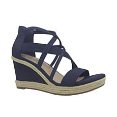 IMPO Tacara Stretch Platform Wedge Sandal with Memory Foam