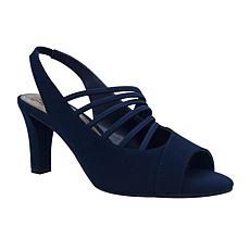 Impo Valera Stretch Dress Sandal with Memory Foam