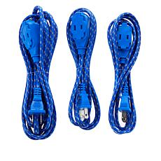 Improvements 3-pack Retro Extension Cords