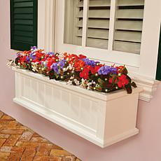Improvements Pre-Lit Multicolor Impatiens Window Box Filler