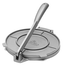 "IMUSA  8"" Cast Aluminum Tortilla Press - Gray"