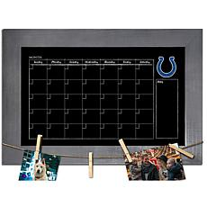 Indianapolis Colts Monthly Chalkboard with frame & clothespins 11x1...