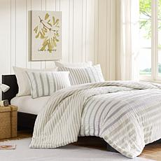 INK+IVY Sutton Cotton Duvet Cover Set - Multi - King