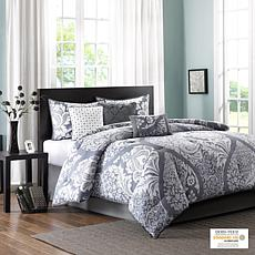 Intelligent Design Loretta Navy Full Comforter and Sheet Set
