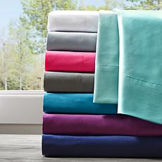 Intelligent Design Twin Microfiber Wrinkle-Free Sheet Set--Teal