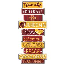 "Iowa State Celebrations Stack 24"" Sign"