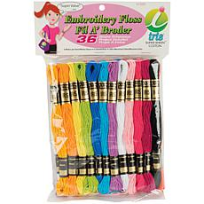 Iris Embroidery Floss Pack 8.7yd 36/Pkg - Pastel Colors