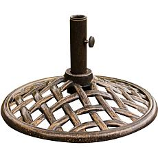 Iron Table Umbrella Base
