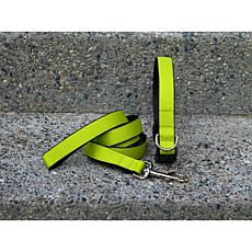 Isabella Cane Extra Small Chartreuse Collar-Leash Set