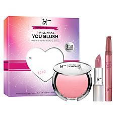 IT Cosmetics 3-piece Naturally Pretty Lip and Cheek Set