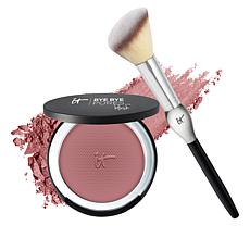 IT Cosmetics Carefree Bye Bye Pores Blush with Brush