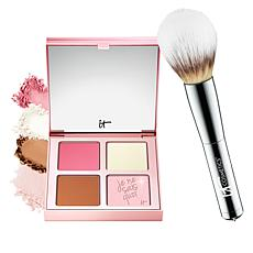 IT Cosmetics Je Ne Sais Quoi Complexion Perfection Palette with Brush