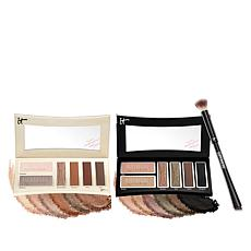 IT Cosmetics Superhero Day & Night Shadow Palettes with Brush