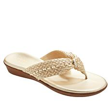 Italian Shoemakers Aylen Woven Thong Sandal