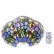 It's Exciting Lighting Battery Powered Wall Sconce - Iris Pattern