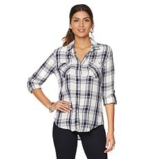 JACHS Girlfriend Hailey Button Down Shirt